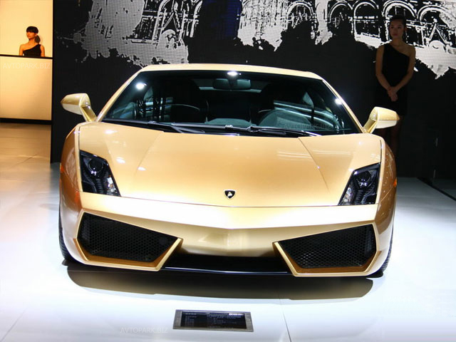 Lamborghini Gallardo LP560-4 Gold Limited Edition
