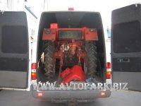На Гомельском пункте пропуска Глушкевичи пытались вывезти из Беларусии трактор в фургоне Mercedes