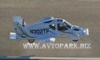 Летающий автомобиль Terrafugia (подготовка к полету)