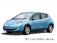 Nissan поставит в Москву электрокары Leaf