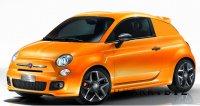 Fiat 500 Coupe по Американски