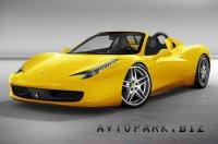 Кабриолет Ferrari 458 Italia Spider