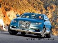 Audi Q6 2011 года будет конкурентом BMW X6