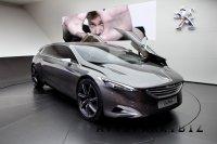 Peugeot HX1 минивен будущего.