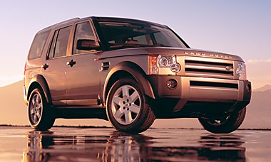 Обзор Land Rover Discovery TDV6